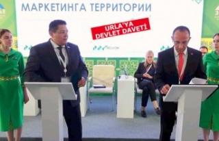 Rusya'daki Türkler, Urla ile kardeş olacak