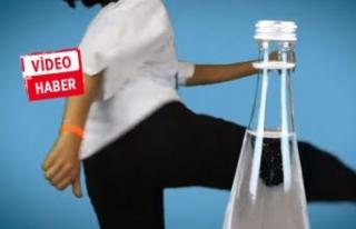 Sağlık Bakanlığından #bottlecapchallange videosu