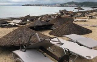 Yunanistan'da fırtına: 6 ölü, 108 yaralı