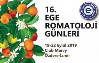 """""""16.Ege Romatoloji Günleri"""" İzmir'de..."""