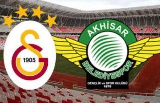 Akhisarspor'da Galatasaray mesaisi
