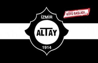 Altay'dan kötü giriş