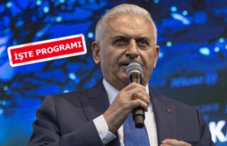 Binali Yıldırım bugün İzmir'e geliyor