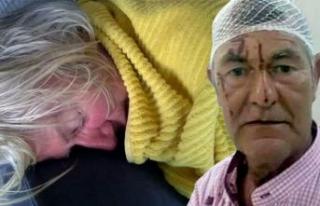 Didim'de İrlandalı çift dehşeti yaşadı