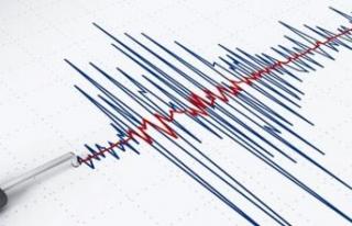 Ege Denizi'nde bir deprem daha! Bu kez merkez...