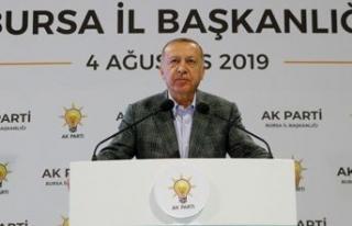Erdoğan'dan dikkat çeken faiz ve enflasyon...