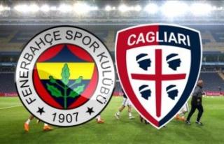 Fenerbahçe Cagliari hazırlık maçı ne zaman, saat...