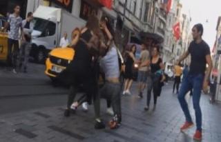 İstiklal Caddesi'nde 'meydan savaşı'