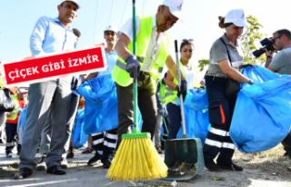 """""""İzmir bütün dünyanın hayranlık duyduğu..."""