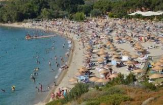 İzmir sahillerinde bayram bereketi!