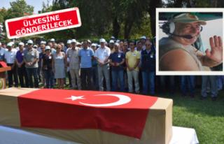 İzmir yangınında hayatını kaybeden pilota son...