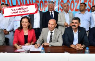 İzmir'de 5 bin 80 işçiye bin lira zam yapılmıştı!...