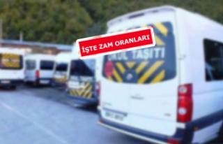 İzmir'de servis ücretlerine zam geliyor!