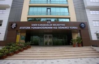 Karabağlar'da kız öğrenci yurdu kayıtları...