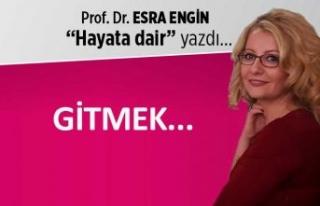 Prof. Dr. Esra Engin yazdı: Gitmek...