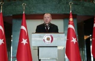 Erdoğan'dan ABD'ye mesaj ve S-400 çıkışı!