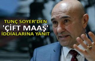 Soyer'den 'çift maaş' iddialarına yanıt