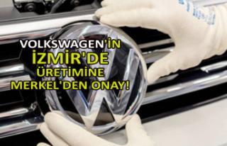 Volkswagen'in İzmir'de üretimine Merkel'den...