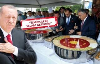 Cumhurbaşkanı Erdoğan'dan İzmir'e aşure...