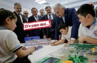 """İzmir'de eğitime """"Yıldırım"""" destek"""