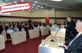 İzmir'de okul çevreleri güvenli hale getiriliyor