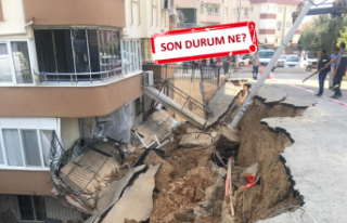 İzmir'deki 'istinat duvarı paniği'