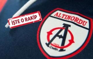 Altınordu, Süper Lig ekibiyle hazırlık maçı...