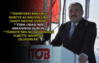 Bakan Varank'tan İzmir'de önemli mesajlar
