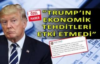 Doğan: Trump'ın sözleri ekonomiye etki etmedi!