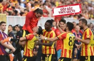 Göztepe: 4 - İstikbal Mobilya Kayserispor: 0