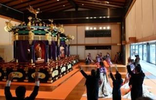 Japonya yeni imparatorun 150 milyon dolarlık tahta...