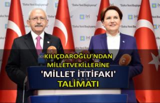 Kılıçdaroğlu'ndan milletvekillerine 'Millet...