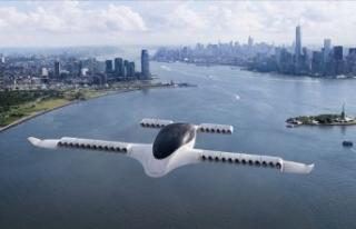 'Uçan taksi saatte 100 km hızı aştı'