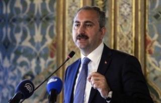 Adalet Bakanı Gül'den icra açıklaması! Yüz...