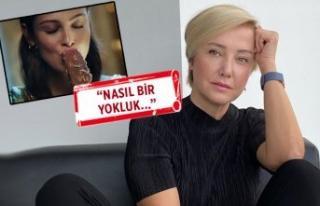 Berna Laçin'den RTÜK'e dondurma reklamı...