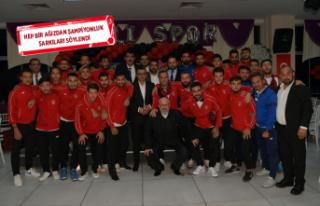 Çiğlili Sporseverlerden 'Dayanışma ve Birlik'...