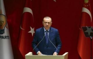 Erdoğan: AK Parti'de eski diye bir kavram yoktur