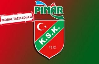 Pınar Karşıyaka tarihi seri için parkede