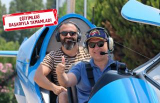 Türkiye'nin ilk gyrocopter pilotu milletvekili!