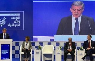 Abdullah Gül: Otoriter rejimler sürdürülebilir...