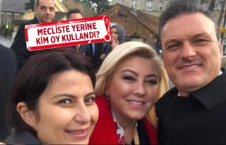AK Parti İzmir milletvekilinin olay yaratan pozu