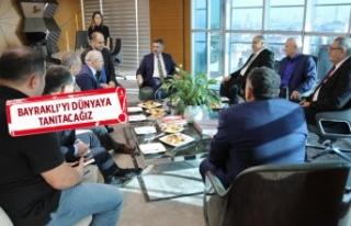 Almanya'da yaşayan Türk iş adamlarından Başkan...