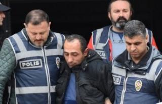 Ceren Özdemir'in katili cezaevine giderken olay...