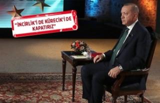 Erdoğan'dan flaş yaptırım açıklaması