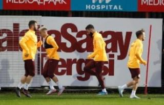 Galatasaray, Tuzlaspor maçına hazır