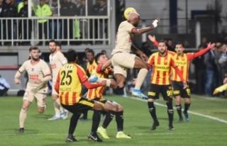 Göztepe: 2 - Galatasaray: 1
