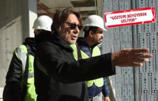 Göztepe Başkanı Sepil: Stattan sonra hedefi yükselteceğiz