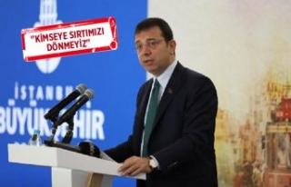"""İBB Başkan Ekrem İmamoğlu """"Roman Çalıştayı""""na..."""