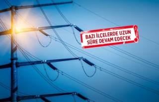 İzmir'de 13 ilçede elektrik kesintisi
