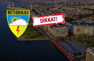 İzmir'de hafta sonu hava nasıl olacak?
